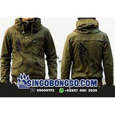 JACKET SNK ARMY MODE Price : IDR 269K / USD 32 Material : Canvas Application : Screen Printing Delivery from Indonesia Contact : ORDER BBM : 590007F2 WA : 62 857 4161 3939 LINE : singobongso RESELLER BBM : 7D7993CF WA : 62 89 659 326 456 email : singo.bongso@gmail.com Facebook http://ift.tt/1VLnZ12 http://ift.tt/1XzdPBW Instagram http://ift.tt/1OhgqcD http://ift.tt/210r841 Singobongso Anime Clothing Jaket Anime   Kaos Anime   Store Anime   Tas Anime   Jaket Naruto   Jaket Akatsuki   Jaket…