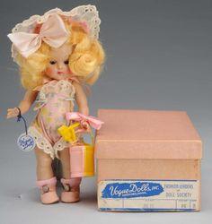Vogue Hard Plastic Ginny Julie Doll