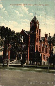 Steele County Court House Owatonna Minnesota