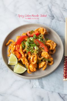 Spicy Udon Noodle Salad