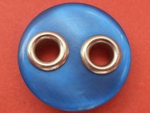 10 Knöpfe blau 18mm (4888-10x) Jackenknöpfe Knopf