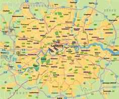nice London Tourist Attractions Map
