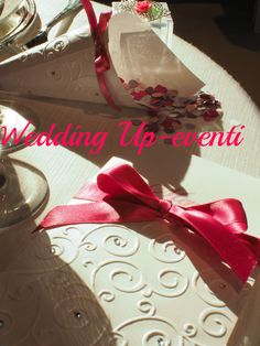 Menù e Conetto per coriandoli, i coordinati...Wedding Up-eventi