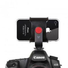 iPhone 4 / 4S Camera Mount Kuel S22.  What sooooo dope!!