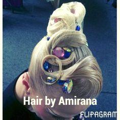 Hair by Amirana .  #hair #dance #coiffure #hairdecoration #goodday #ballroom #hairdressing #dancesport #dancehair #amirana #competitions #dancesportmoda #спортивныебальныетанцы #dancesport #ballroomworld #ballroomhair #ballroomhairstyle #hairstylist #hairstyle