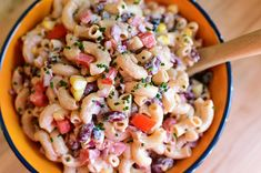 I've made this simple pasta salad for years and years, and have always loved the heck out of it. It's zippy, flavorful, and f...