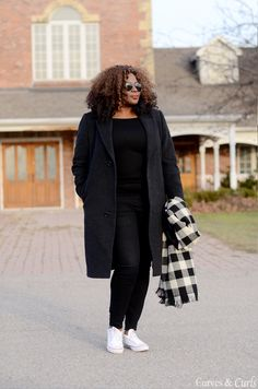 My Curves & Curls™ | A Canadian Plus Size Fashion blog: Chill mode
