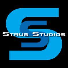 Strub Studios YouTube site Web Design, Graphic Design, Studios, Animation, Letters, Cool Stuff, Logos, Illustration, Logo