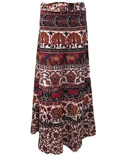 Wrap Skirt, Baby Elephant Print Cotton Wrap Around Long Skirt Dress, City Style Mogul Interior http://www.amazon.com/dp/B00RL58VMQ/ref=cm_sw_r_pi_dp_PwOOub1RTK8TC