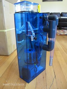 The AquaMaxx hang on Back Series protein skimmer is a finely crafted acrylic box that is perfect for your nano aquarium. Nano Aquarium, Saltwater Aquarium, Pet Seahorse, Marine Tank, Acrylic Box, Hands, Gift Ideas, Blog, Saltwater Tank