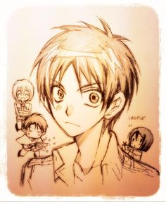 Arina Tanemura Sketches Eren Jaeger For His Birthday