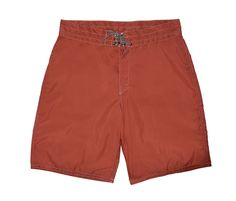A legend for more than 50 years, Birdwell Beach Britches are available in a variety of styles, sizes and colors; these Men's Board Shorts 312 are in Paprika. Mens Boardshorts, Blue Orange, Chambray, Red And White, Swimwear, Style, Products, Fashion, Red Peppers