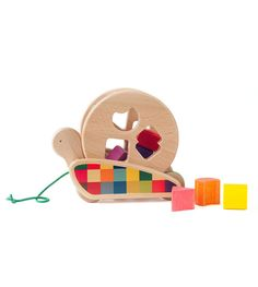 Snail Sortroller | Brimful (great resource for wooden toys)