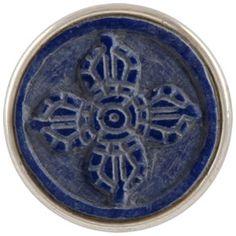 Noosa chunks viswa vajra synthetischer Lapis  ► Material:Lapis ◄  Dieses alte Symbol kommt aus dem Buddhismus und besteht aus zwei sich kreuzenden Blitzen. Das Viswa vajra erinnert an unsere eigene Kraft, es schützt und verbindet Energien. ☼ 13,95 € ☼