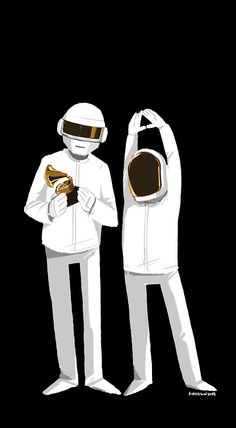 Daft Punk at Grammy 2014