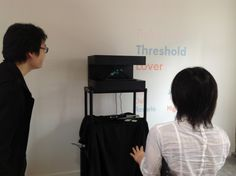 Visitors interactive and having fun with H+ 4DBox System