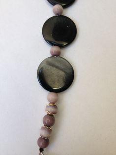 Twilight II-- Handmade Shell Bead Bracelet by ReprievesCorner on Etsy