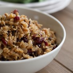 Cranberry Wild Rice Recipe « Go Bold with Butter