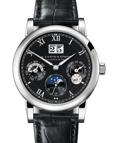 A. Lange & Söhne Langematik Perpetual Watch In White Gold   watch releases