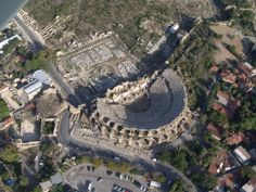 Ancient Theather in Side Ancient City, Side Town, Antalya Province, Mediterranean Region, Turkey Turkey Photos, Crystal Palace, Resort Spa, The Good Place, City Photo, Sunrise, Side Antalya, Amazing, Places