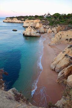 Playa de  Cova Redonda, Algarve