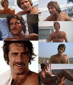 """Lifeguard"" starring a young Sam Elliott. Elliot is terrific. Sam Elliott Pictures, Katharine Ross, Tom Selleck, Thing 1, Raining Men, Good Looking Men, Famous Faces, Gorgeous Men, Movie Stars"