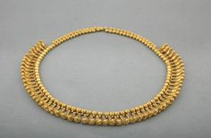 Necklace Composed of Beads and Bird PendantsVani, Western Georgia, ca. 450 B.C.Gold