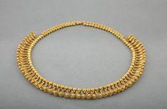 Necklace Composed of Beads and Bird PendantsVani, Western Georgia, ca. 450 B.C.Gold