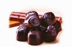 Bombones caseros delicia de chocolate para endulzar a tus niños | Postres y Masitas Praline Chocolate, Chocolates, Nespresso, Sweet Recipes, Deserts, Chocolate Favors, Homemade, Food, Chocolate