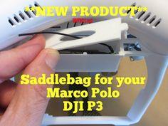 NEW PRODUCT from UAV Bits for your #DJI #P3 #Phantom3 Saddlebag for your #MarcoPolo  #UAV #dronesaregood