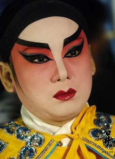Chinese Opera, now that is real contouring, good for costuming