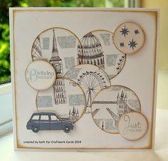 Craftwork Cards Blog: I Love London... Men's Cards, Boy Cards, Scrapbook Albums, Scrapbooking, Birthday Ideas, Birthday Cards, Craftwork Cards, Retirement Cards, Masculine Cards