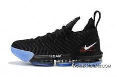 best service 218ca 6f766 Buy 2018 New Release Off-White X Nike Lebron 16 Black Blue Shoes Discount  from Reliable 2018 New Release Off-White X Nike Lebron 16 Black Blue Shoes  ...