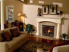 Heatilator Caliber nXt Gas Fireplace, like the iron work on the front.