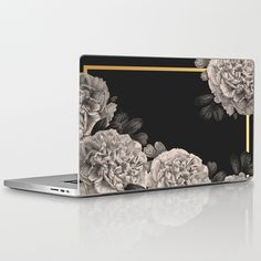 Buy Flowers on a winter night Laptop & iPad Skin by absentisdesigns. Worldwide shipping available at Society6.com. Just one of millions of high quality products available.