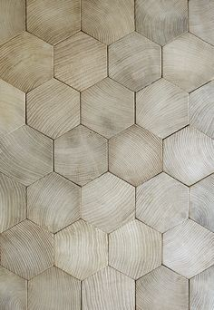 From the excellent French restorer and manufacturer of classical parquetry, Atelier des Granges - hexagonal flooring.