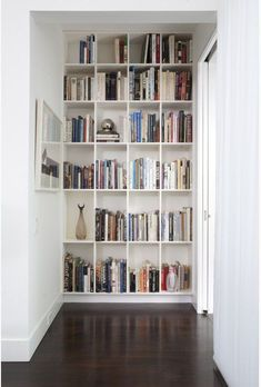 DIY Shelves Ideas : Small Space Secrets: 7 Ways to Make the Most of Your Hallways