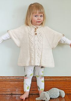 Ravelry: The Little Tourist Poncho pattern by Jenni Lansing