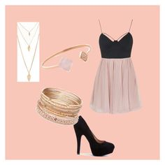 """""""Fancy First Set"""" by torisofia ❤ liked on Polyvore featuring Topshop, Michael Kors, Red Camel and Forever 21"""