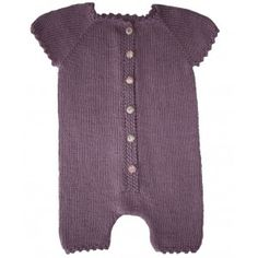 Cute onesie. In french and paid pattern