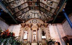 Capilla Inmaculada Concepcion del Hospital de Zacan. Michoacan, Mexico