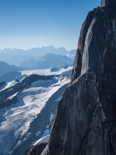 Vertical World Snowpatch Spire, Bugaboo Provincial Park, BC Canada