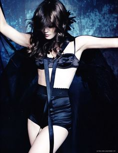 Vanessa Paradis - Bra by Agent Provocateur, High-Waisted Knickers by Rigby & Peller