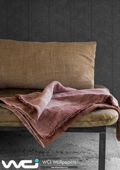 Wallpaper Suppliers, Bespoke Design, Retro, Room Wallpaper, Wallpaper Ideas, Africa, Throw Pillows, Blanket, Living Room