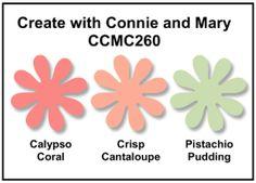 Calypso Coral, Crisp Cantaloupe, Pistachio Pudding