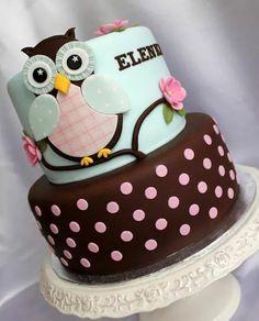 Tosca Owl Cake