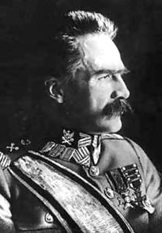 Chief of State Marshal Józef Piłsudski was the nation's premiere statesman between 1918 until his death on 12 May 1935