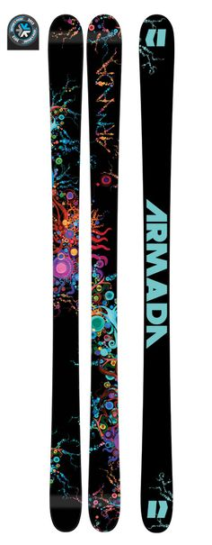 ARW women's skis for the entire mountain and the park - from Armada (2012)