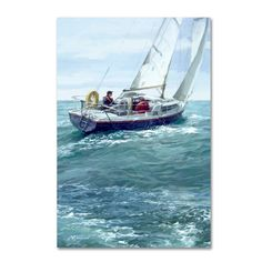 The Macneil Studio 'Sailing Copy' Canvas Art