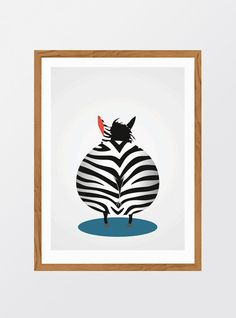 MinStreg: Zebra